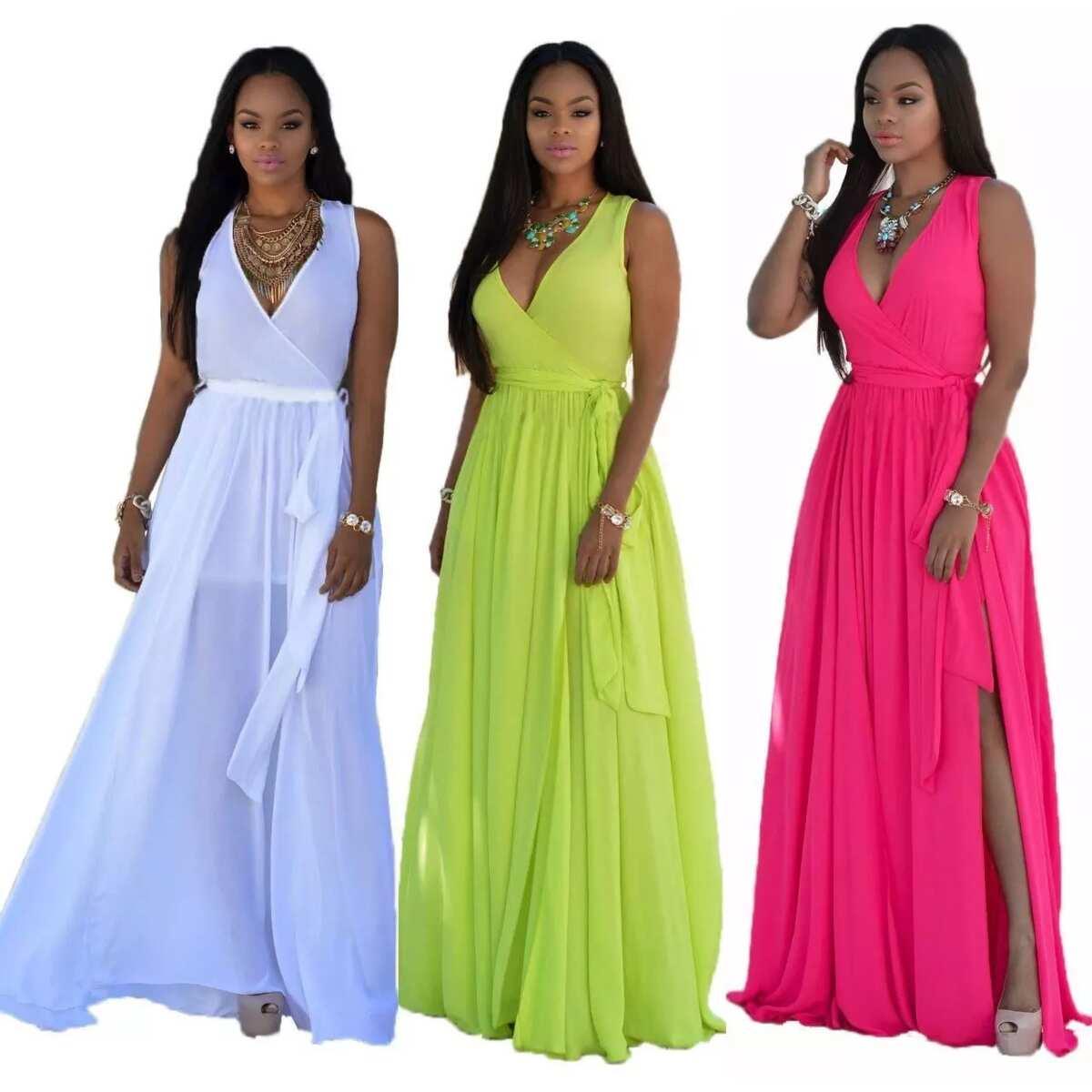 940233266a9 Latest chiffon styles in Nigeria to wear in 2018 ▷ Legit.ng