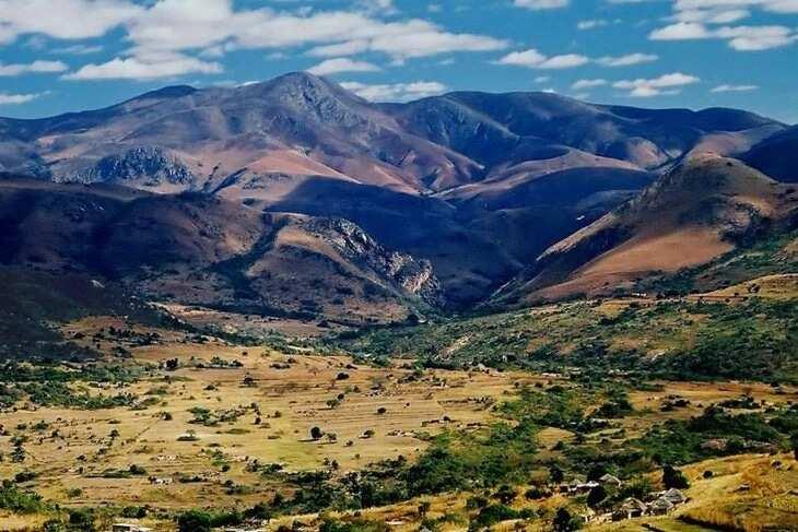 Swaziland mountains