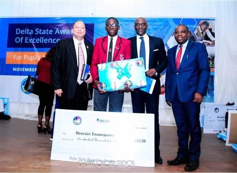 Delta state government, others honour James Hope College and student