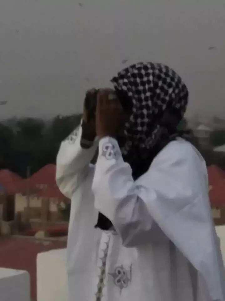 Sarkin gari, limamin gari: Kalli yadda Sarki Muhammadu Sunusi ya nemi watan Ramadan