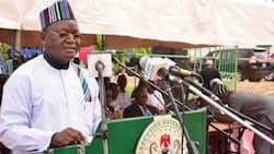 Just in: Alleged herdsmen burn down Governor Ortom's 250 hectares rice farm