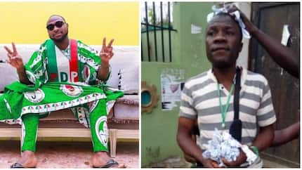 INEC official who tampered with election result gets arrested, Davido reacts