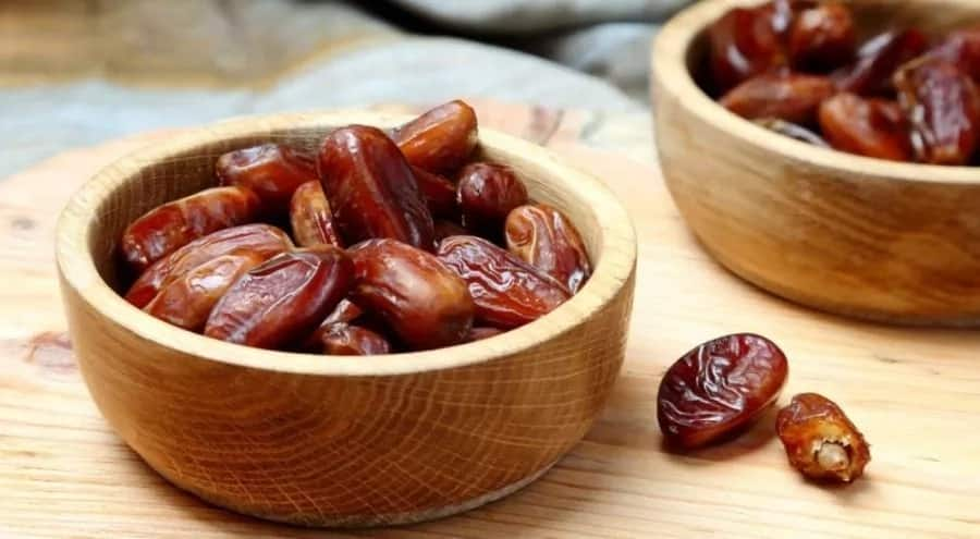 Dates in bowls