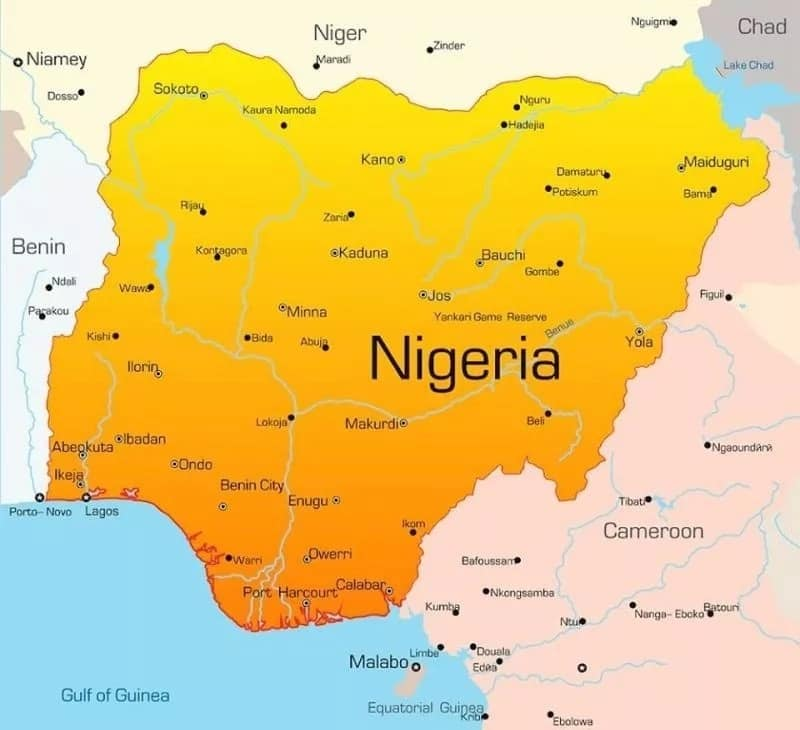 Largest country in Africa by population Nigeria
