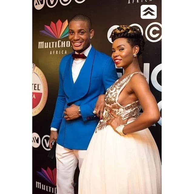 Yemi Alade and boyfriend