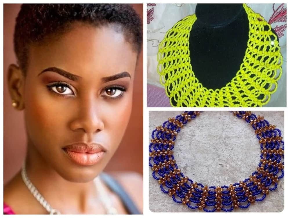 How to make Abuja connection bead necklace ▷ Legit ng