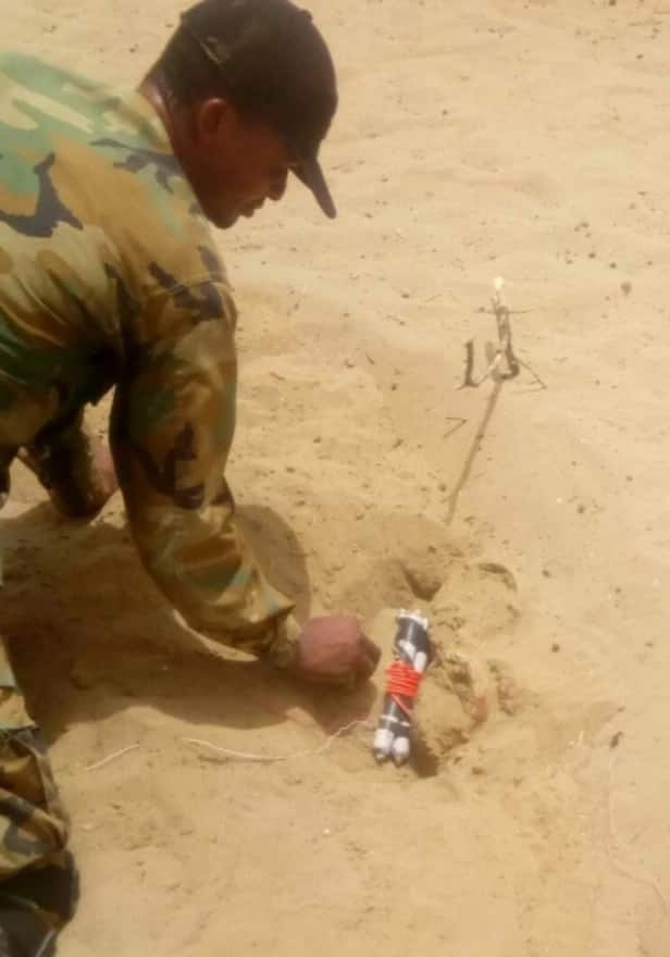 Nigerian troops overrun Boko Haram hideout again, 2 killed as IEDs are recovered