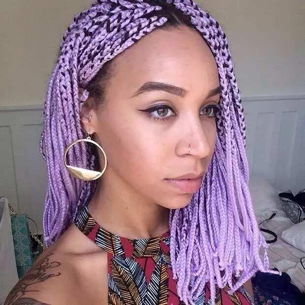 Vibrant braids
