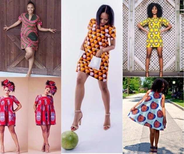 Ankara shift dress styles in 2018