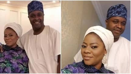Thank you for coming into my life - Femi Adebayo as he celebrates second wife on wedding anniversary