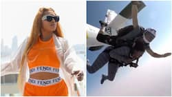 Rukky Sanda jumps off a plane at 13,000 feet on her birthday, shares video