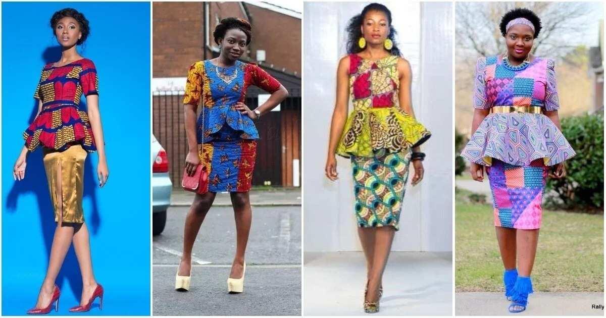 Chic Peplum Styles With Ankara For 2018 Legit.ng