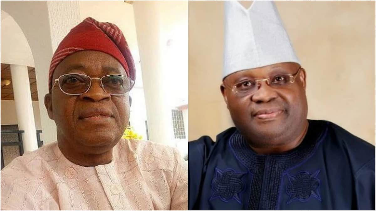 Adeleke is best at dancing, I felt ridiculed contesting against him - Oyetola - Legit.ng