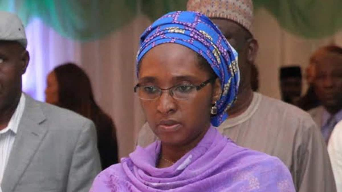 Mrs Zainab Ahmed, the minister of State Budget and National Planning will oversee the ministry of finance