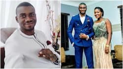 Nigerian comedian shares horror story of how a snake slept in his toilet for two days, scared his wife out of the house