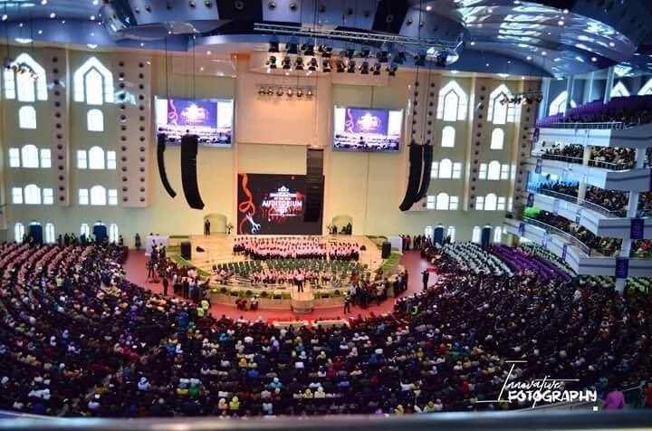 Deeper Life opens multi-billion naira edifice (photos)