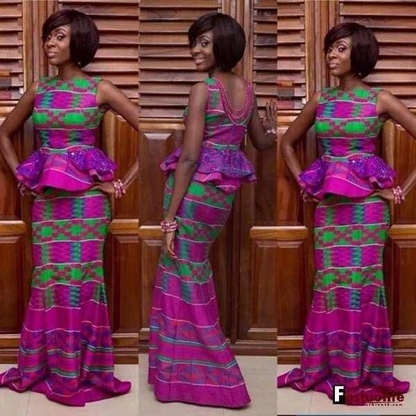 Latest ankara skirt and blouse style for wedding-8