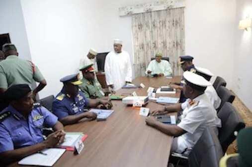 Buhari Sacks Service Chiefs; Names Replacements