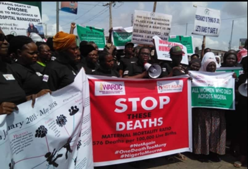 Lagosians march against killings in Nigeria May 28