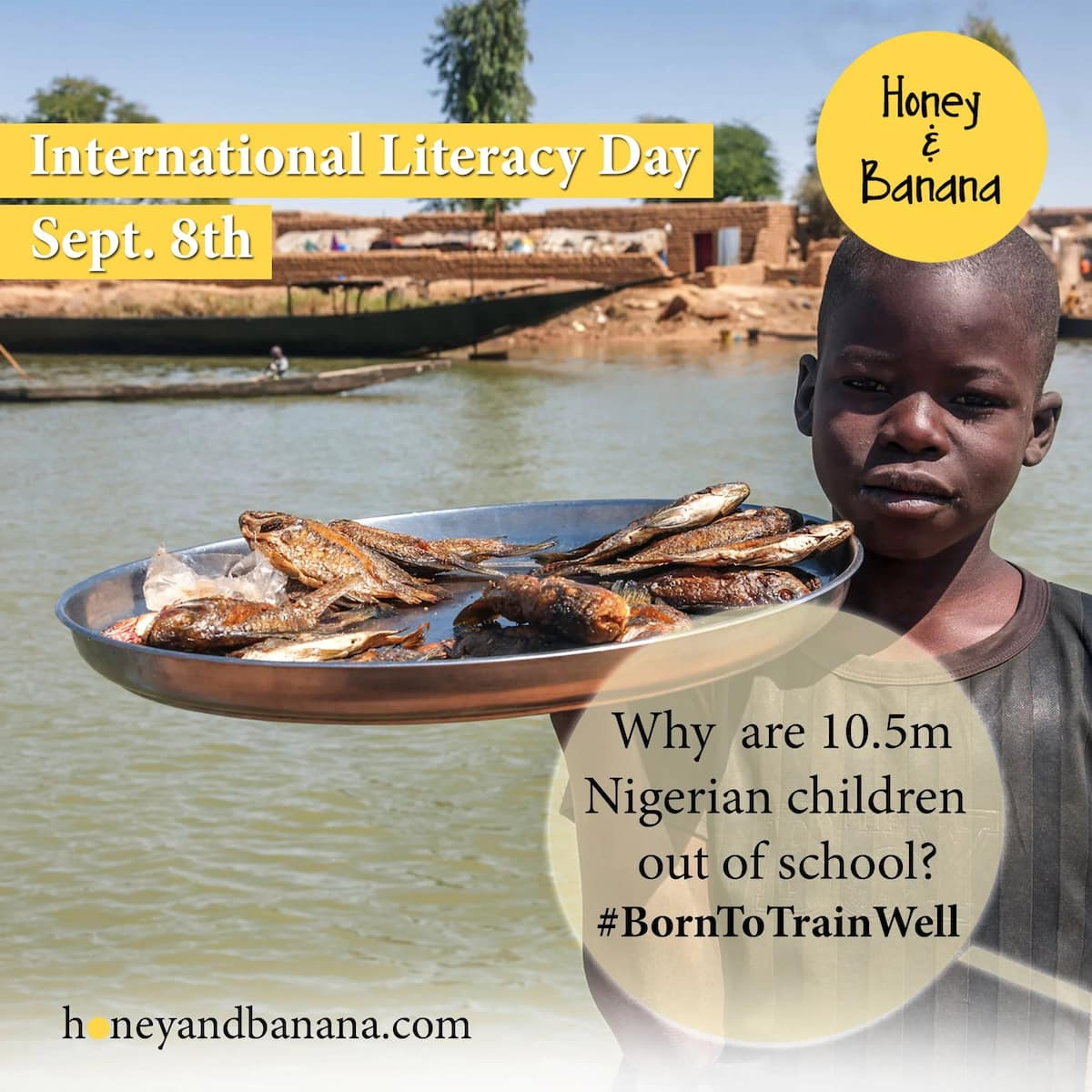 Why are 10.5 million Nigerian children out of school?
