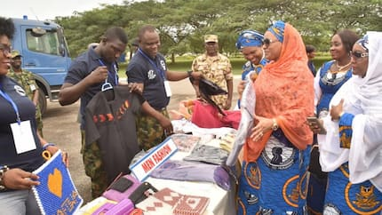 NAF officers wives empower unemployed women, youths in Abuja