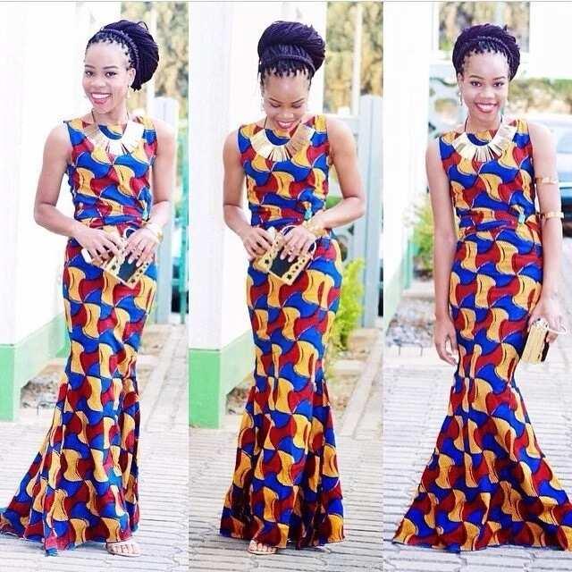 Nigerian ankara prom dresses