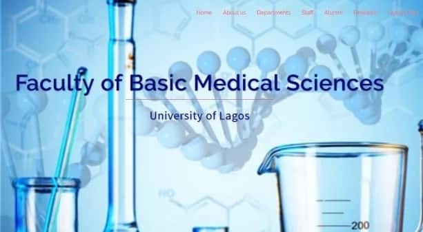 University of Lagos Faculty of Basic Medical Sciences