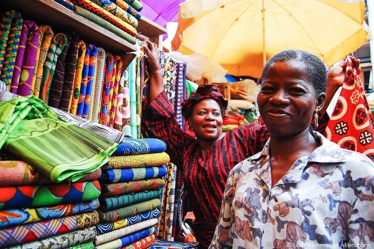 Shops and markets in Lagos