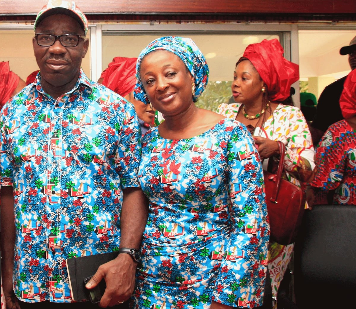 Governor of Edo State biography and wife