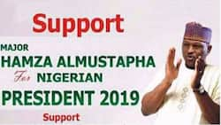SEE Al-Mustapha's 2019 presidential election campaign poster