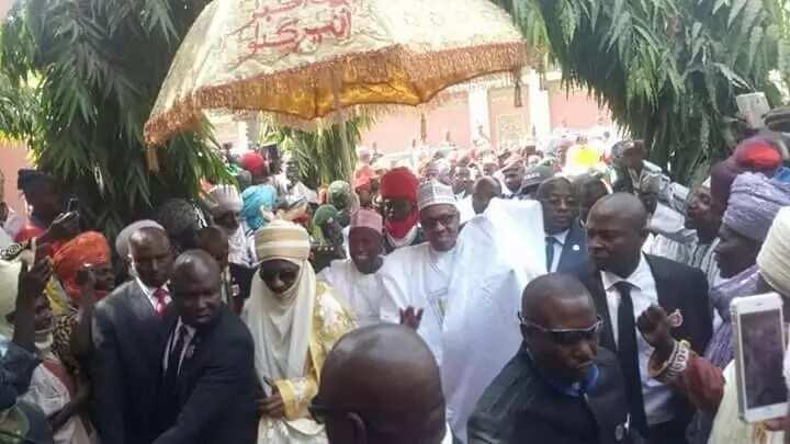 2019: Buhari, ya hangi nasara a jihar Kano sakamakon fitar farin ɗango da dubun dubatan Kanawa suka yi don tarbarsa