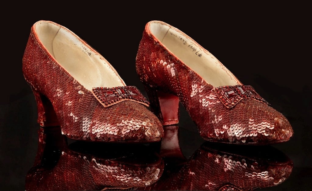 Most expensive shoes in the world from Wizard of Oz movie