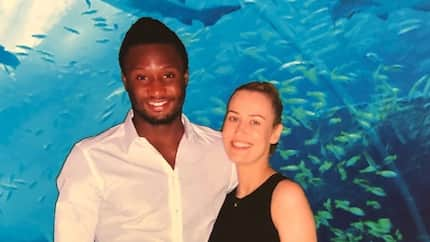 He takes care of his family! Mikel Obi's girlfriend responds to a fan who suggested he does not