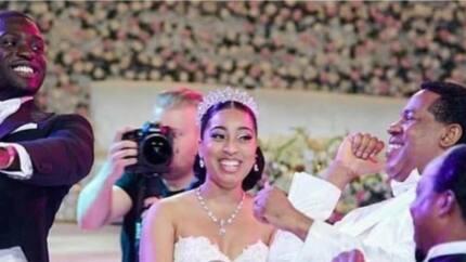 Interesting video of Pastor Chris Oyakhilome dancing Shaku Shaku at daughter's wedding