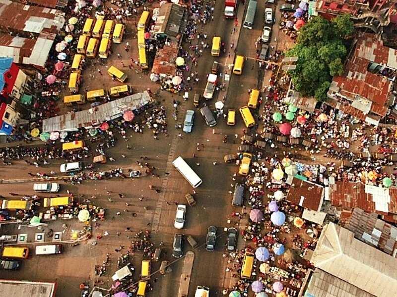 Traffic in Lagos