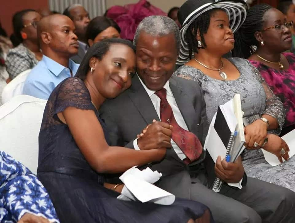 Vice President Yemi Osinbajo and wife Dolapo celebrate 26th wedding anniversary
