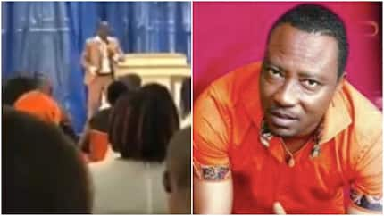 Confusion as lady leaks video of famous pastor asking members to pay for special miracle from God