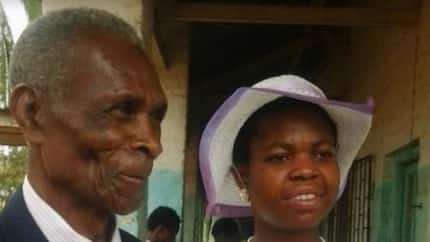 My wife beats and threatens to kill me - 83-year-old cries for divorce a year after marrying his 26-year-old wife (photo)