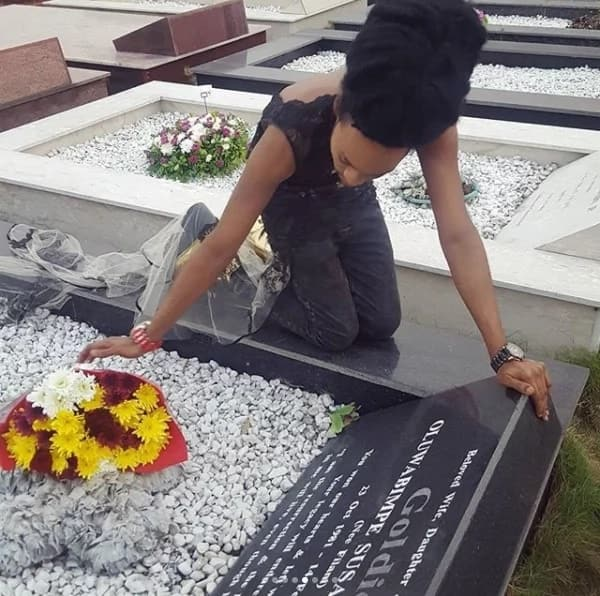 Denrele Edun pays tribute to Goldie 5 years after her death