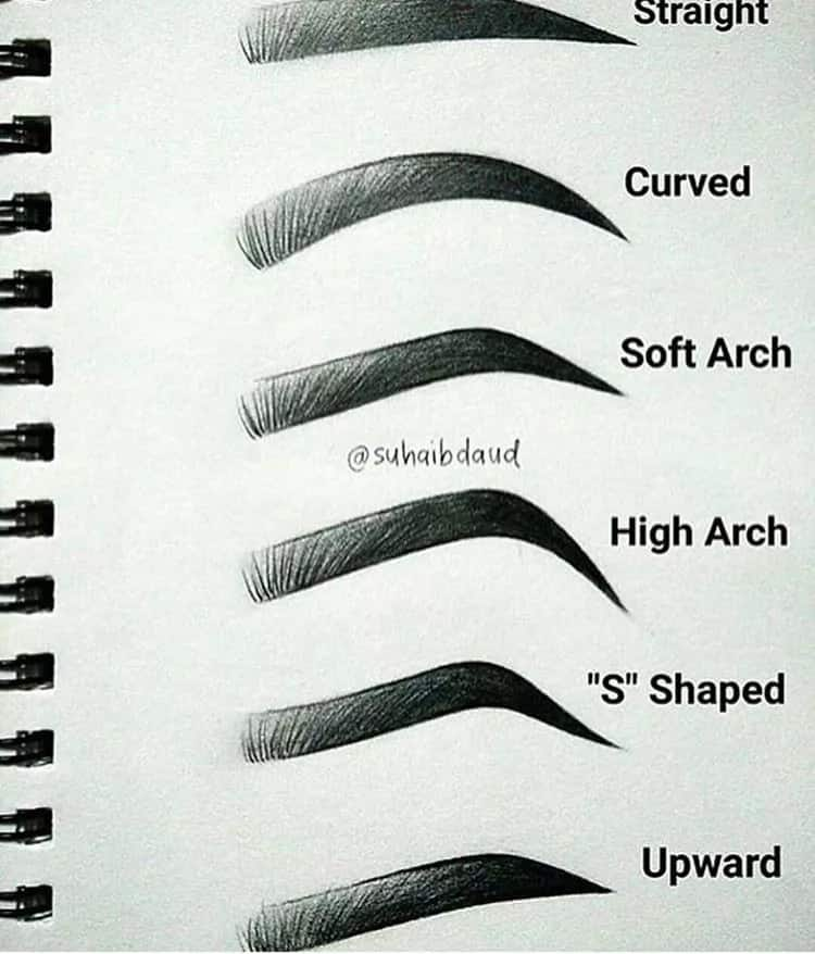 How to draw eyebrows: step-by-step guide Legit.ng