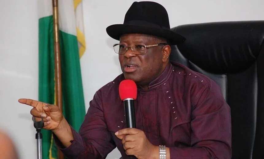 Ebonyi is not part of Biafra - Governor Umahi