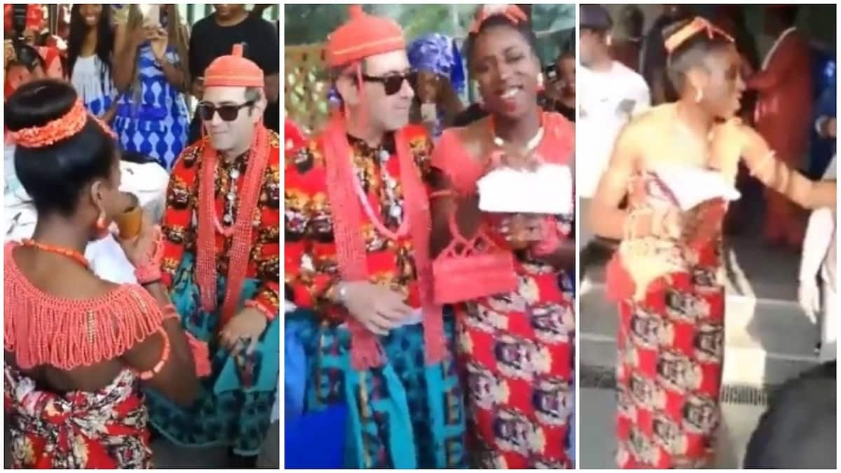 Nigerian lady weds her Italian lover in Rome