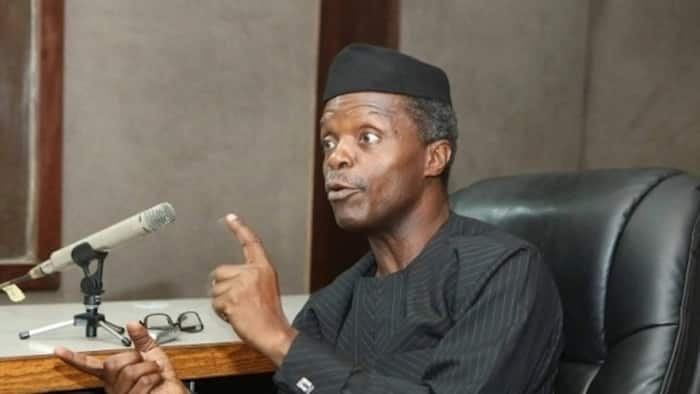 Finding upright men in positions of authority is Nigeria's problem - Osinbajo