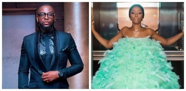 What Teddy A has to say about BamBam's controversial feather outfit to the 2018 AMVCA