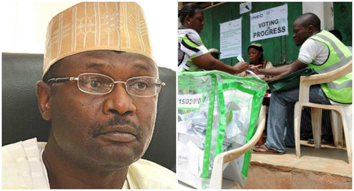 Wata sabuwa: An koma sayar kuri'a ta hanyar aika kudi ta wayar hannu - INEC