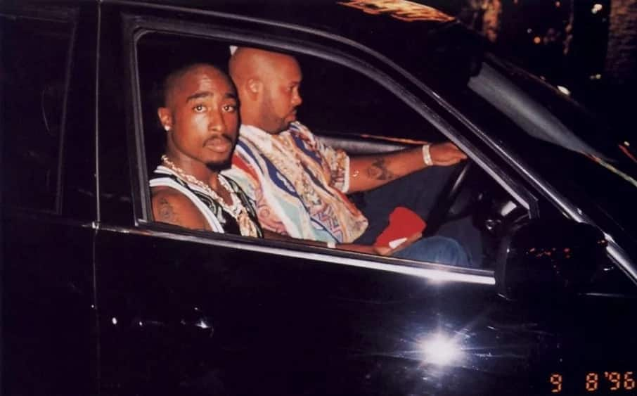Tupac Shakur's car and its bullet holes to sell for $1.5million