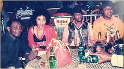 Hilarious throwback photo of Kcee with E-Money and AY