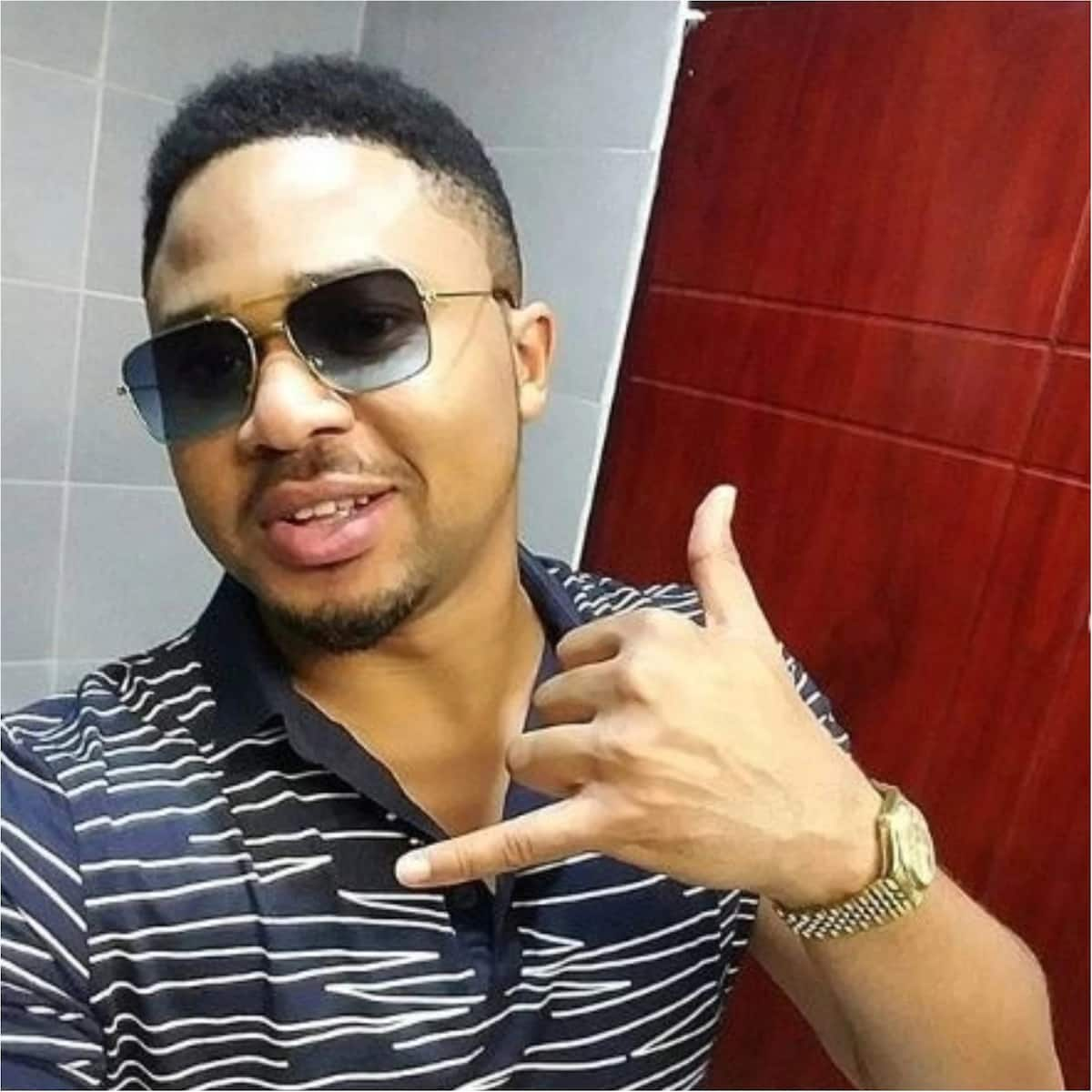 Actor Godson slams lady supporting AAU student impersonating him
