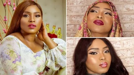 Curvy actress Halima Abubakar is a stunning damsel in these recent photos