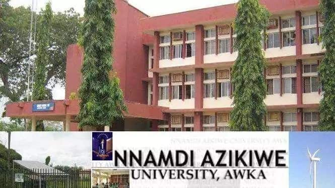List of courses offered by Nnamdi Azikiwe University for 2020/2021